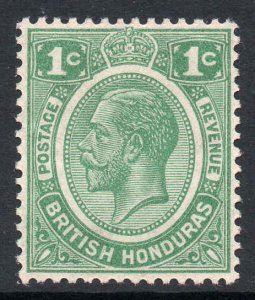 British Honduras 1922 KGV 1c wmk MSCA SG 126 mint.