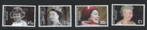 British Antarctic Territory mnh S.C.#  369 - 372