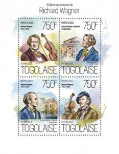 TOGO 2013 SHEET WAGNER COMPOSERS tg13816a
