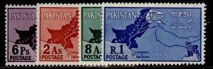PAKISTAN QEII SG108-111, complete set, M MINT.