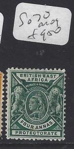 BRITISH EAST AFRICA   (PP2510B)  QV  4  A  SG 70      MOG