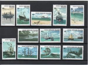 Cocos Islands 20-31 MH