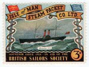 (I.B) Cinderella Collection : Isle of Man Steam Packet 3d (Douglas I)