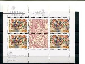 Portugal  Europa  1982  Mint  VF NH   - Lakeshore Philatelics