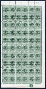 Bahamas KGVI SG162c 1/2d Columbus Variety Accent Flaw (R1/5 1938 printing only)