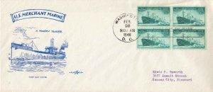 United States Scott 939, 929, 934-936 Unaddressed