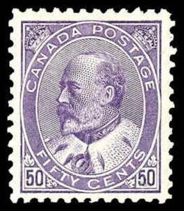 CANADA-f-b-1903-1926 ISSUES (89-140) 95  Mint (ID # 85690)