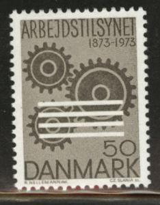 DENMARK  Scott 518 MNH** 1973 50o stamp