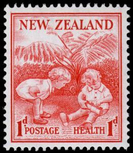 New Zealand Scott B13 (1938) Mint LH VF, CV $6.25 M