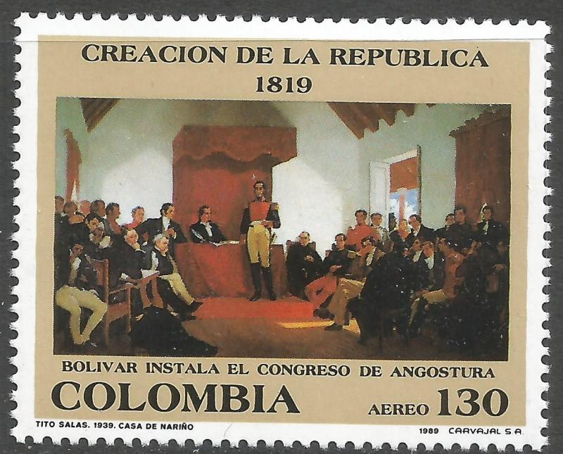 COLOMBIA C814 MNH X862