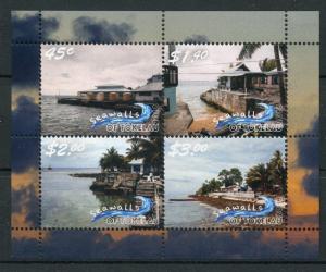 Tokelau 2018 MNH Seawalls 4v M/S Tourism Landscapes Palm Trees Nature Stamps
