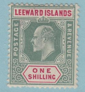 LEEWARD ISLANDS 37  MINT HINGED OG * NO FAULTS EXTRA FINE !