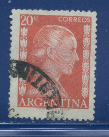 Argentina 602  F-VF  Used