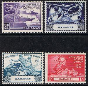 Bahamas Scott #150 To 153, Four Stamp UPU (Universal Postal Union) Complete S...