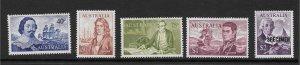 1966 Australia Decimal Navigators Set with Specimen Overprint on $2 Stamp