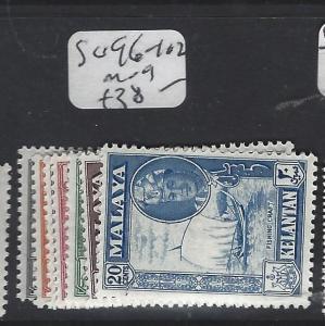 MALAYA KELANTAN   (PP2303B) SULTAN   SG 96-102  MOG