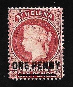 St. Helena 1883 - M - Scott #29