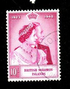 Solomon Islands #83 Used FVF Cat$13