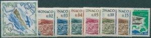 Monaco 1964 SG787-794 Aerial Rally Monte Carlo MNH