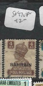 BAHRAIN  (P0903B)  ON  INDIA SG 47  4A    VFU