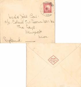 Pitcairn Island New Zealand 1d Kiwi 1938 Pitcairn Island, N.Z. Postal Agency ...