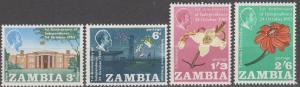 Zambia #22-5 MNH VF  MNH F-VF (SU1452)