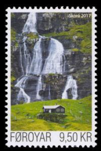 Faroe Islands 2017 Scott #672 Mint Never Hinged