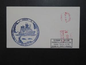Chile 1985 SIBEX Antarctic Cover to Brazil - Z9245