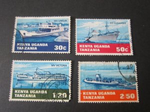 Kenya Uganda Tanganyika 1969 Sc 193-6 set FU