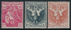 Italy #B1-3*  CV $47.75