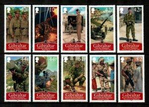 Gibraltar #1158-1167  MNH  Scott $22.50