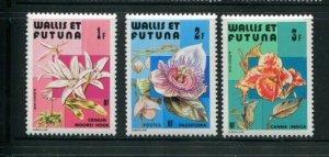 Wallis & Futuna MNH 279-81 Flowers