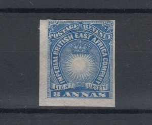 British East Africa 1890/95 8A Imperf Scarce MH JK6007