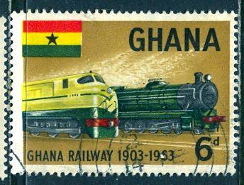 Ghana; 1963: Sc. # 157: O/Used Single Stamp