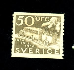 Sweden #260 MINT FVF OG HR Cat$20