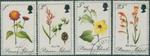 Pitcairn Islands 1970 SG107-110 Flowers set FU