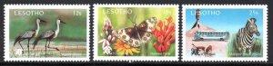 Lesotho - 1991 SADCC Tourism Promotion Set & MS MNH** SG 1032-1035