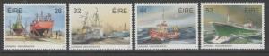 IRELAND SG819/22 1991 FISHING FLEET MNH