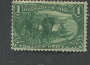 1898 US Stamps #285 1c Mint Never Hinged F/VF Catalogue Value $70