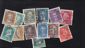 Germany: Sc #351-362, Complete, Used (S18331)