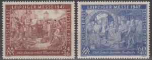 Germany #B296-7  MNH F-VF (SU723)