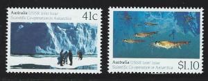 Australia   MNH  sc#  1182 - 1183