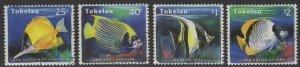TOKELAU ISLANDS SG224/7 1995 FISH FINE USED