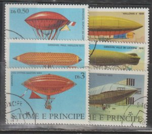 St. Thomas and Prince Islands SC  561-6  Used