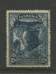 Tasmnia  #89  FU  1899 Single 2.1/2d Stamp