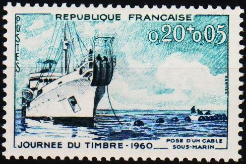 France.1960 20c+5c S.G.1475 Unmounted Mint