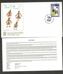 1985 Guernsey Girl Guides FDC