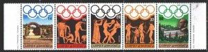 Greece. 1984. 1557-61. Los Angeles, Summer Olympics. MNH.