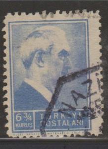 Turkey Sc#883 Used