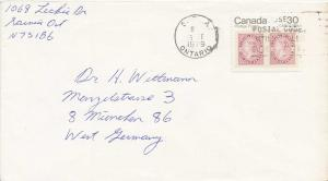 Canada 30c Capex  1979 Sarnia, Ont. Airmail to Munich, Germany.
